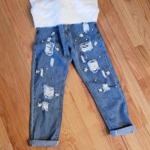 Denim - Embellished Jeans